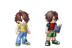 Gaia versions on Cody and Noah by Yuugichan17