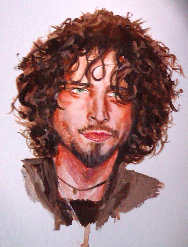 Chris Cornell by panthak on DeviantArt