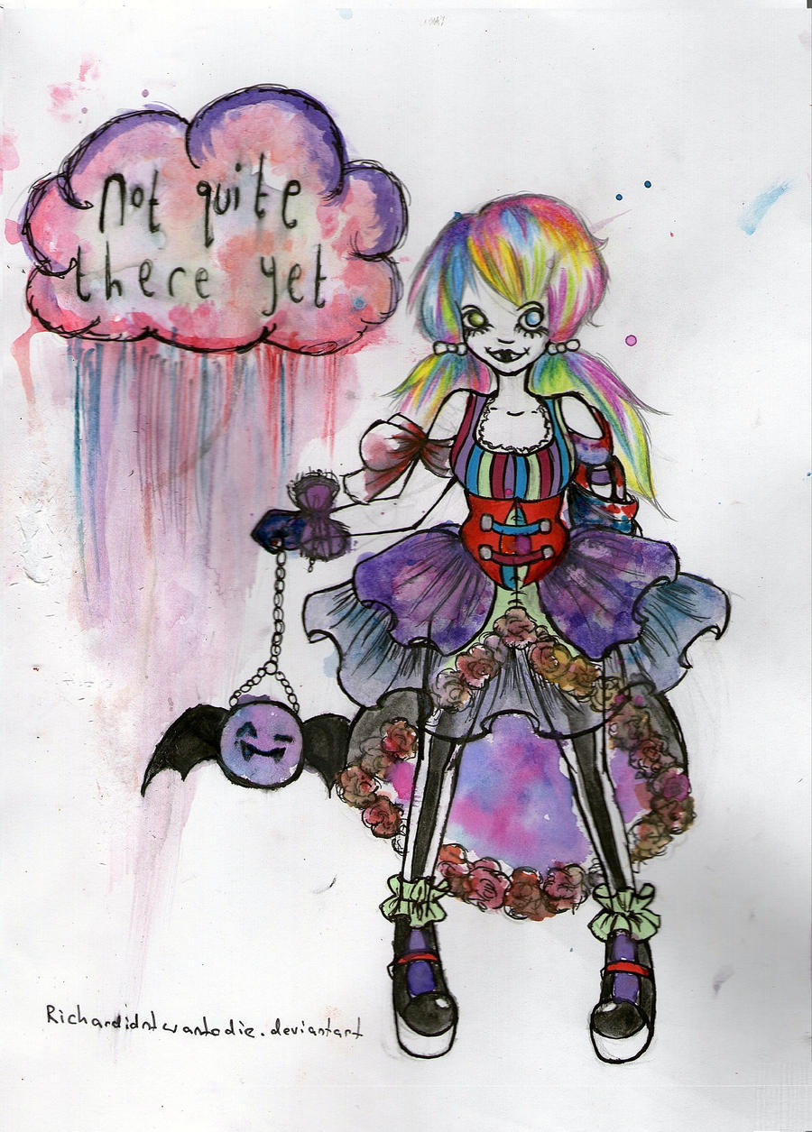 tumblr/grav3yardgirl inspired lolita by richardidntwantodie