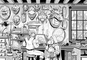 RPG game illustration -02