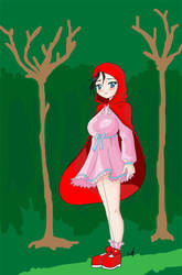 Little red by Megarcaron