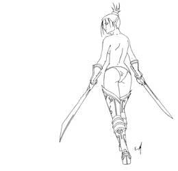blade dancer by Megarcaron