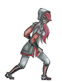 BattleGirl Armour Rose