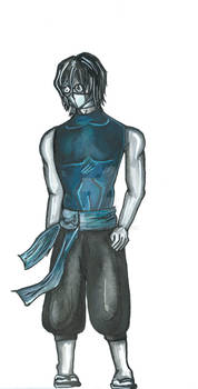 3/4: Character Designs: Mage Cain