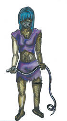 4/4: Character Designs: Thief Felix