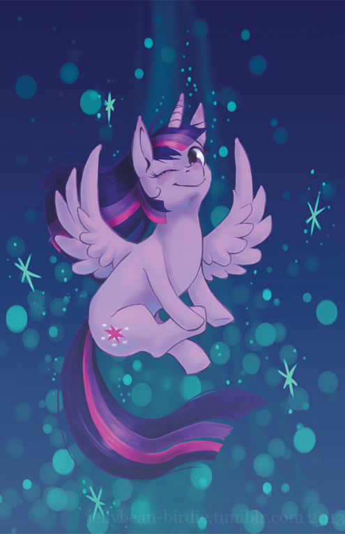 Twilicorn by inky-thingy
