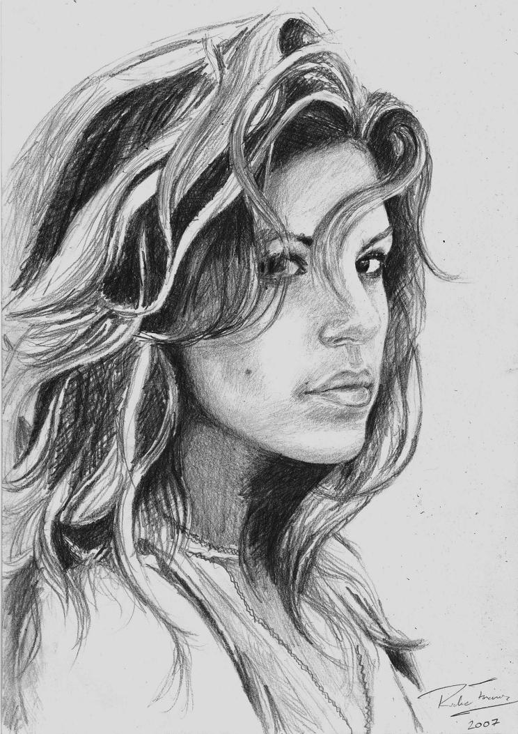 Eva Mendes by earlierbirdscenic