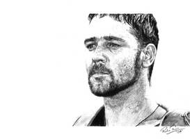 Russell Crowe by earlierbirdscenic