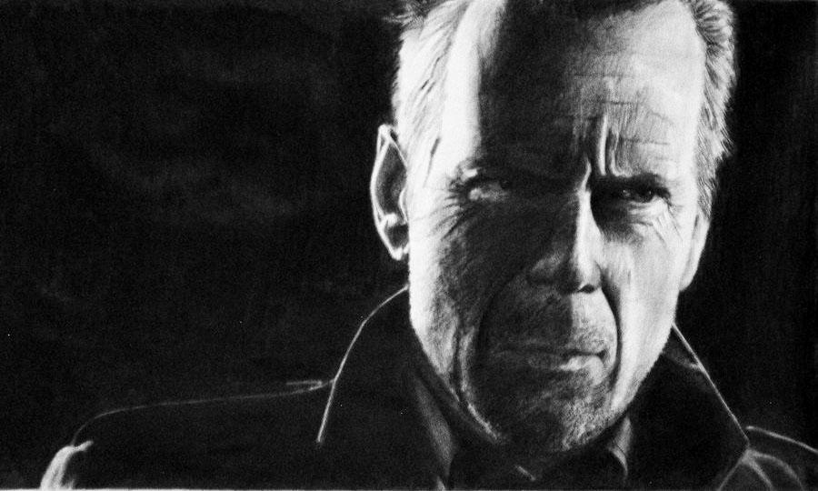 Bruce Willis by earlierbirdscenic