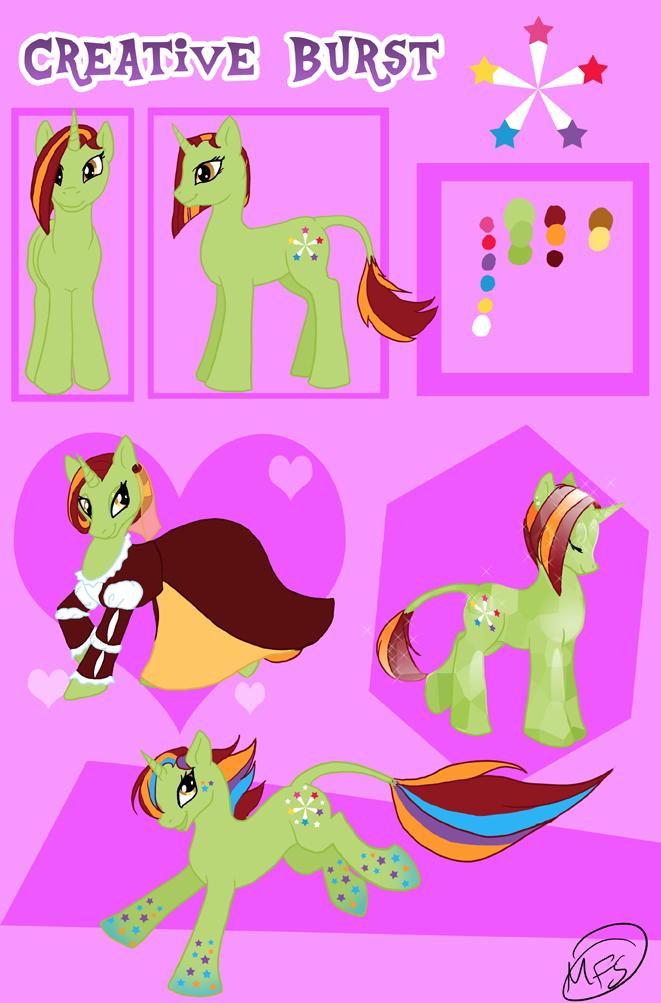 Ponysona: Creative Burst by modesty