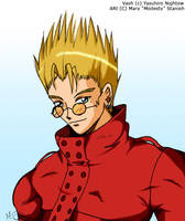 Colored Vash: Fanart by modesty