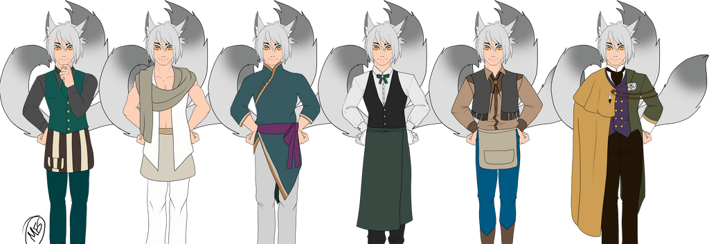 Goro Uniforms by modesty