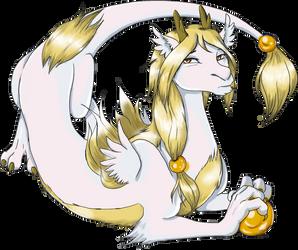 Jiro's Dragon Form by modesty