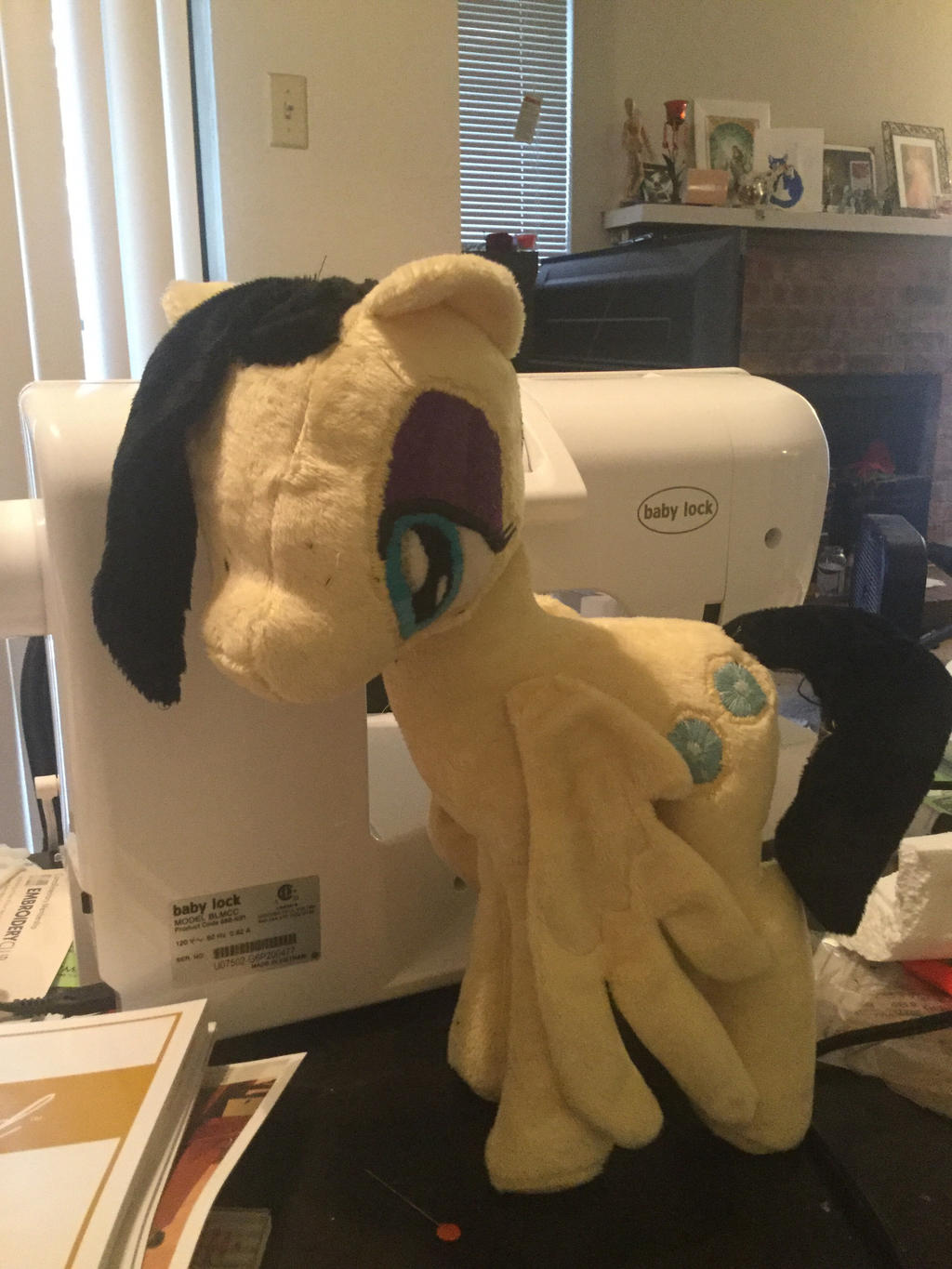 Willow Wisp plushie  by modesty