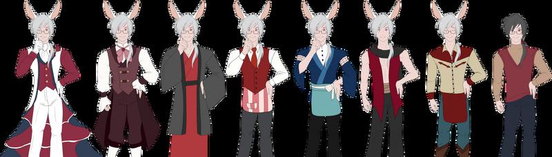 Kichiro's Outfits and Uniforms
