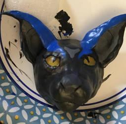 WIP Kova head painted