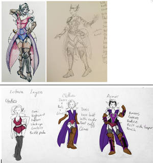 Costume Plans: Lotara