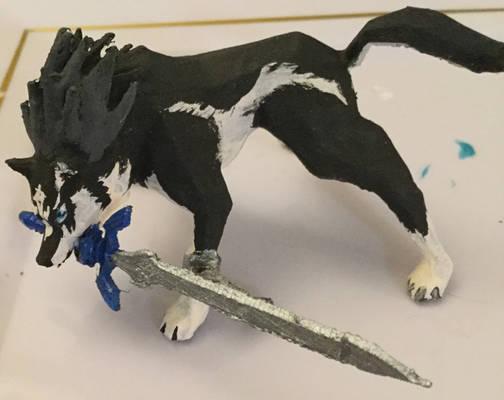 Wolf Link 3D Printed Mini