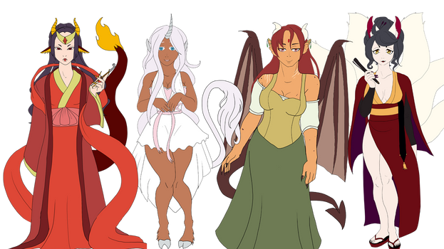 The Dragon Lord's Harem