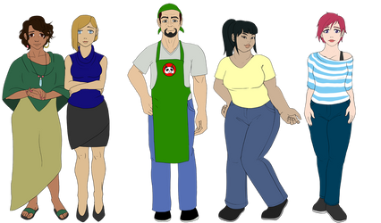 Trouble Brewing: Human Cast