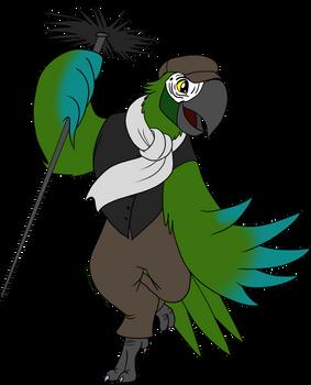 Chimney Sweep Dancer Parrot