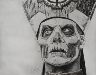 Papa Emeritus II by PinEyedGirl