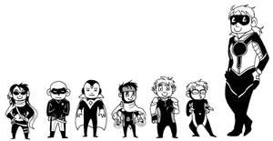 Teeny Young Avengers