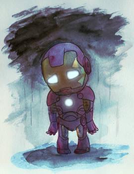 Sad Little Iron Man