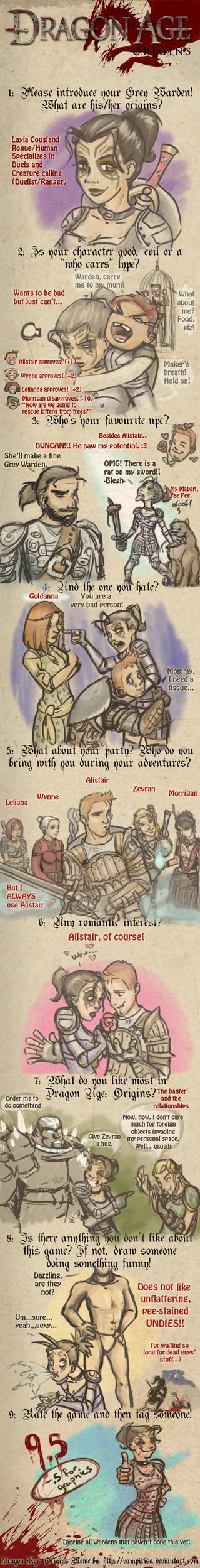 Dragon Age Origins Meme by ArbitraryJane