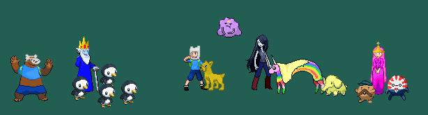 Adventure time  Pokemon edits by KnightArtorius on DeviantArt