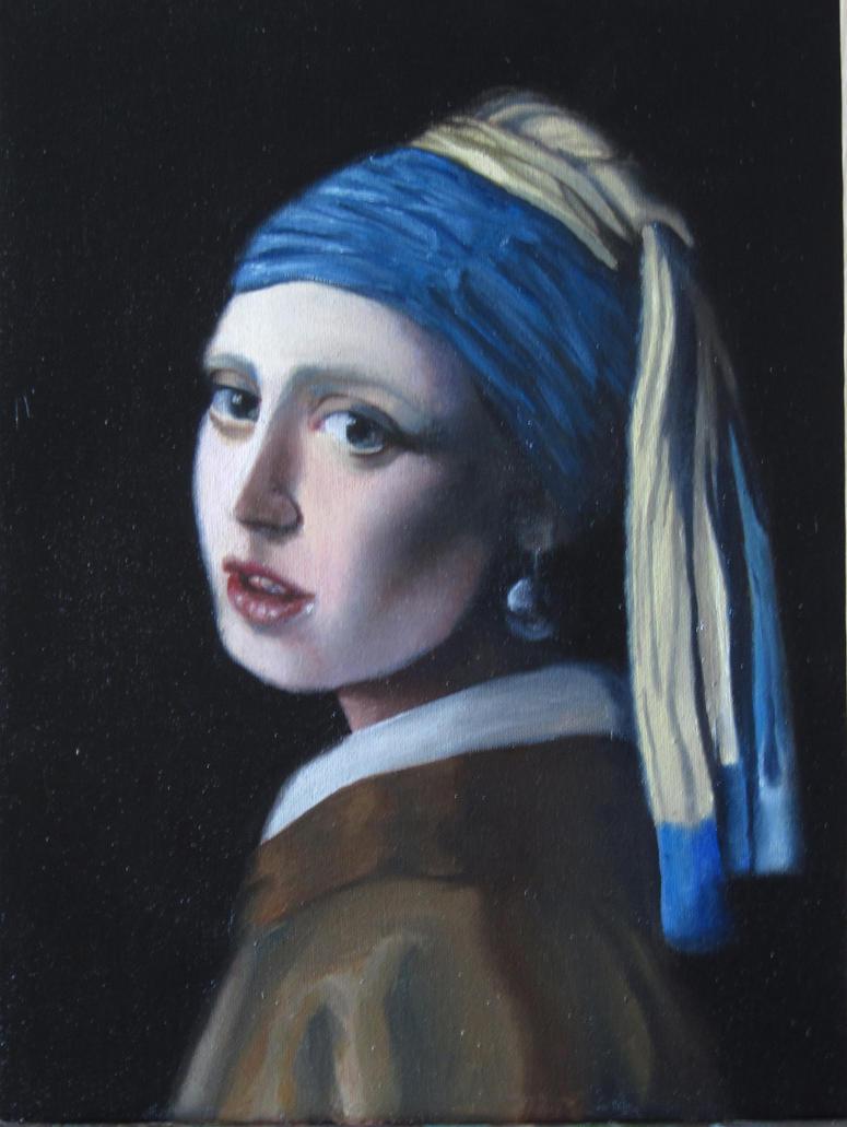 Copy of Johannes Vermeer by V-Redmond