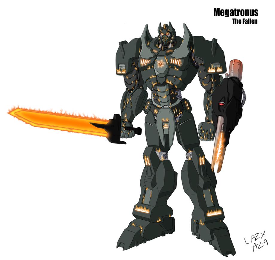 Megatronus - The Fallen by AB0180
