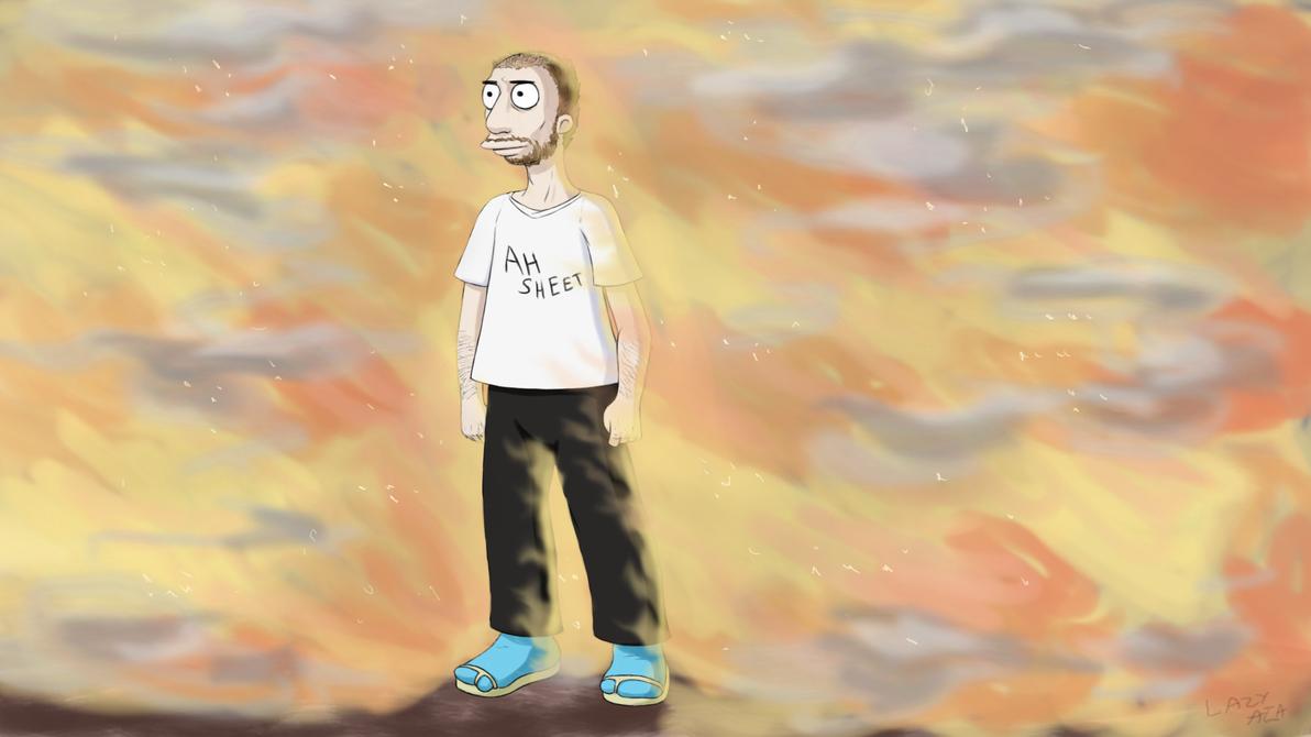 Self Portrait by AB0180