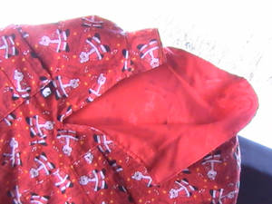 Made in Alaska Holiday Print Fabric Pullover Parka