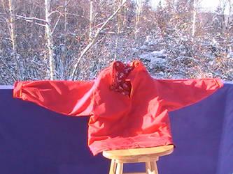Made in Alaska Short Length Pullover Parka by goldenline