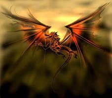Ash-Wing Dragon by Anfalas