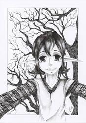 Elf #002 by KatarinaKoneko