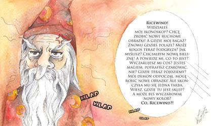 Kolor magii - rincewind by KatarinaKoneko