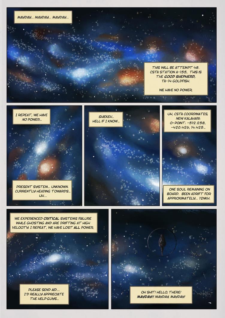 Space Junk Arlia pg 1 by Orange-Castle