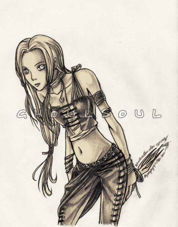 .:Druid Girl:. by GhoulSoul