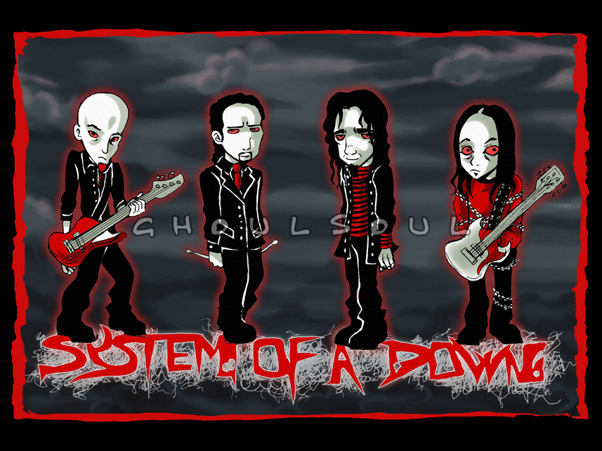 .:System Of A Down:. by GhoulSoul
