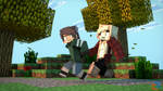 Come on! I gotta show you something! by PortalDoesMinecraft