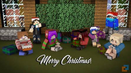 Merry Christmas! by PortalDoesMinecraft