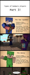 Types of Bedwars Players! Part 3 by PortalDoesMinecraft