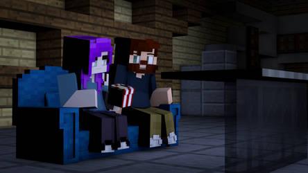 Movie Night by PortalDoesMinecraft