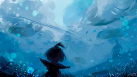 Sea Clouds by OUWU