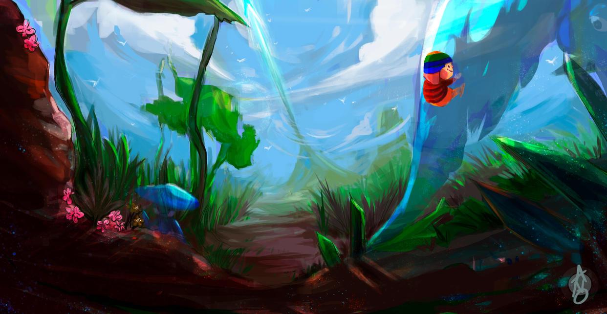 Spirit World by OUWU