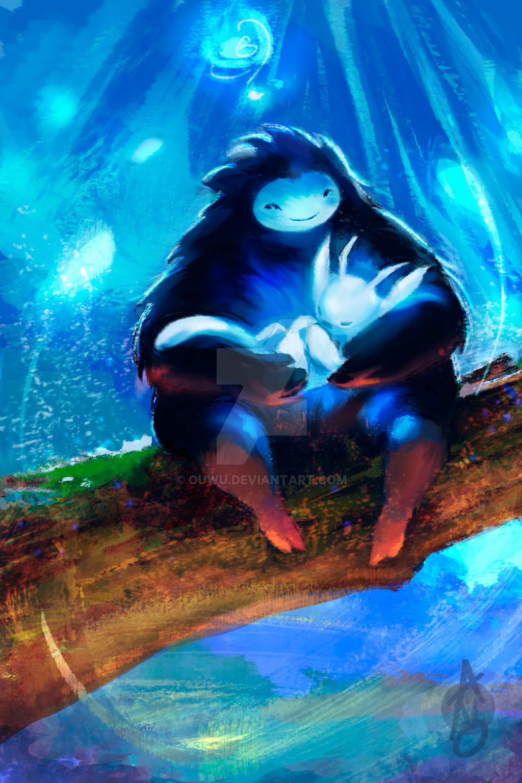 Ori And The Blind Forest by OUWU