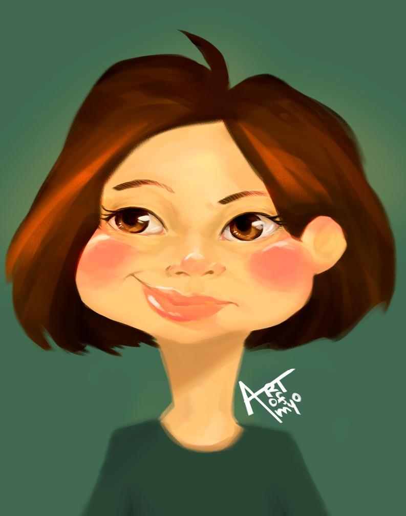 Self portrait by OUWU