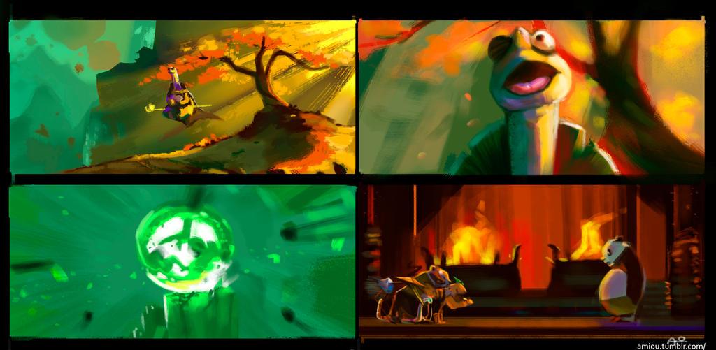 Kung fu Panda 3 by OUWU